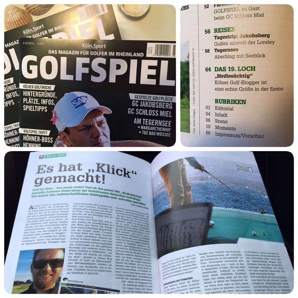 Welche Golfmagazine könnt ihr empfehlen?