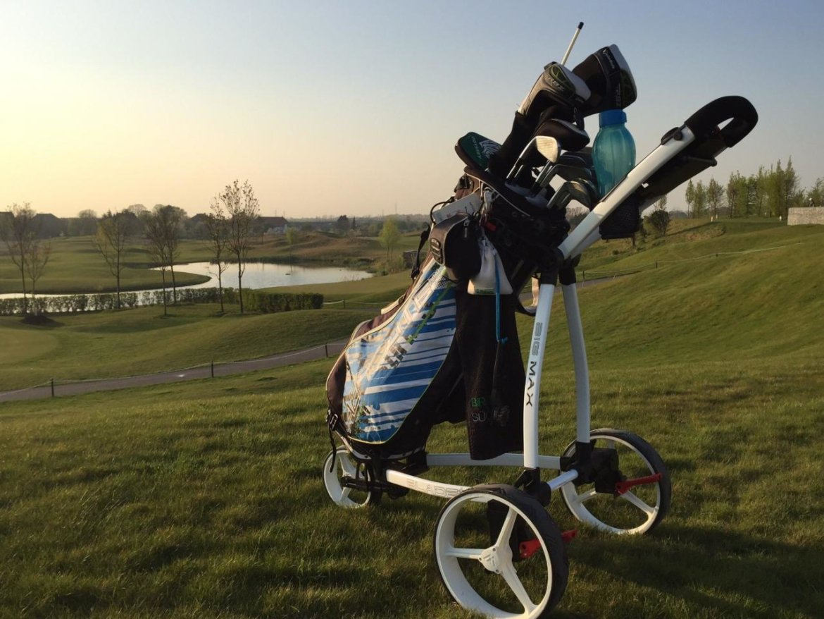 Big Max Blade+ Golftrolley-Platzwunder