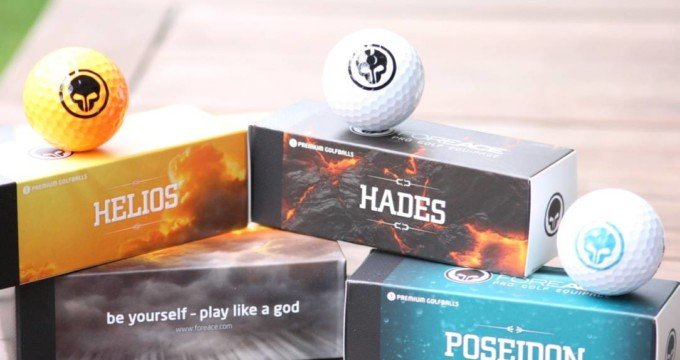 Golfball - ForeAce Bälle im Test