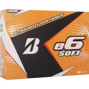 Bridgestone e6-Soft Golfbälle weiß