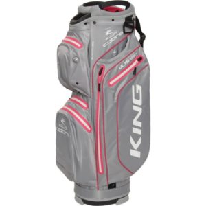 Cobra Cartbag King Ultradry graufuchsia