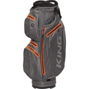 Cobra Cartbag King Ultradry grauorange