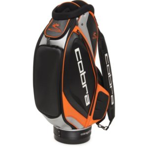 Cobra Tour Staff Cartbag schwarzorange
