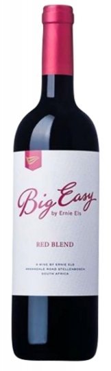 Ernie Els Wines The Big Easy Red 2015